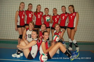 Juniorki KS Siarka 2011-2012